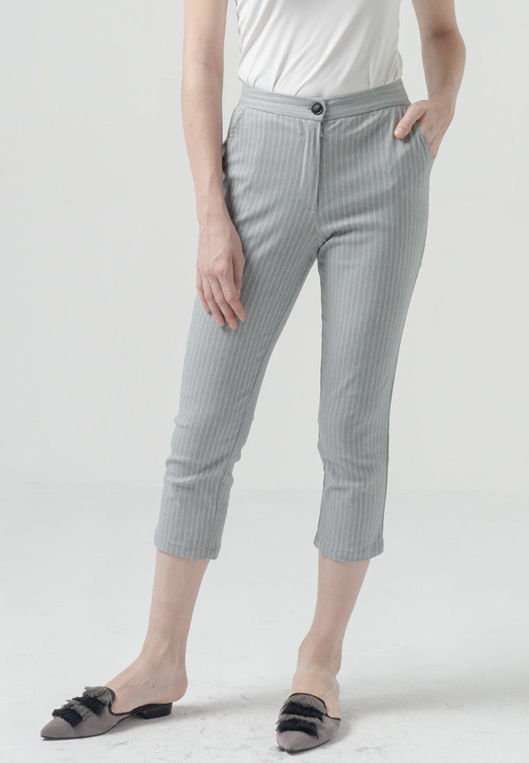 Maula Pants Stripes Grey