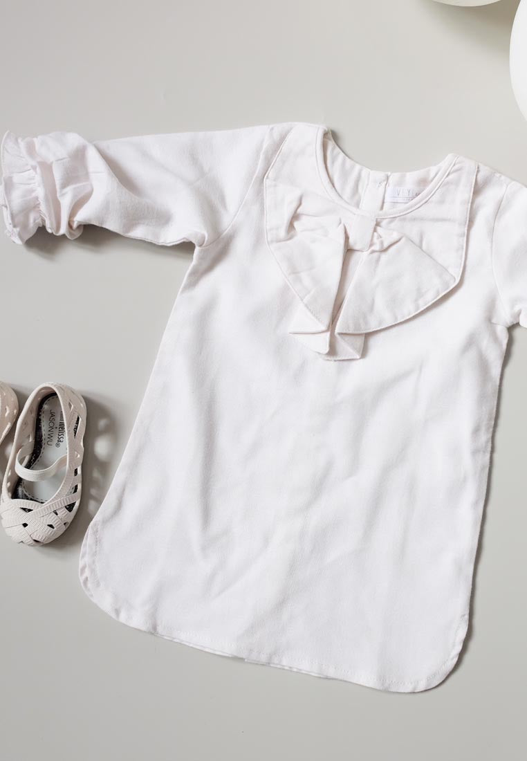 May Dress Off White
