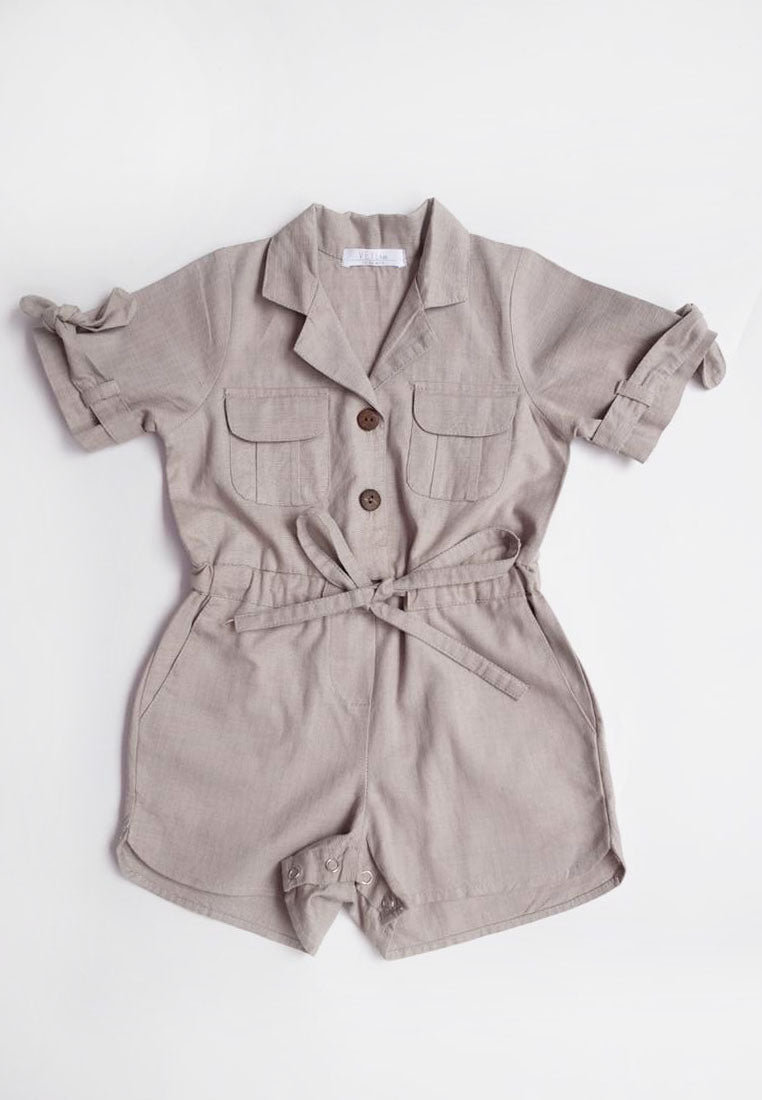 Mela Jumpsuit Grey