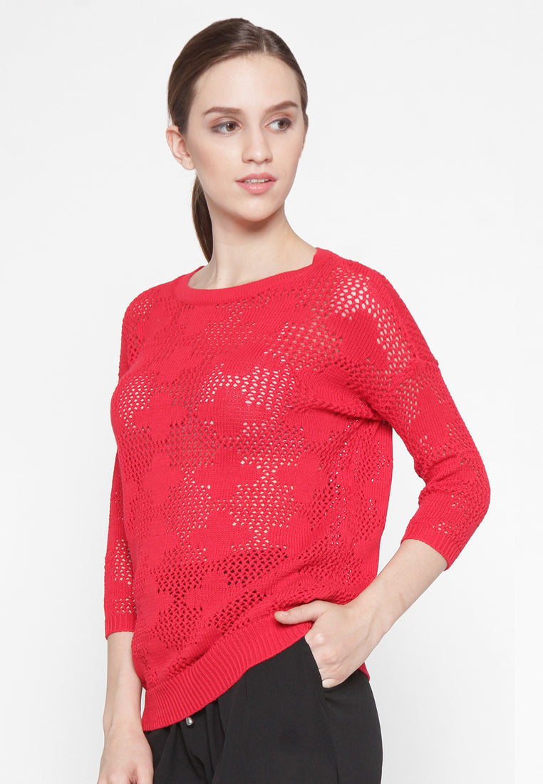 Myra Sweater Red