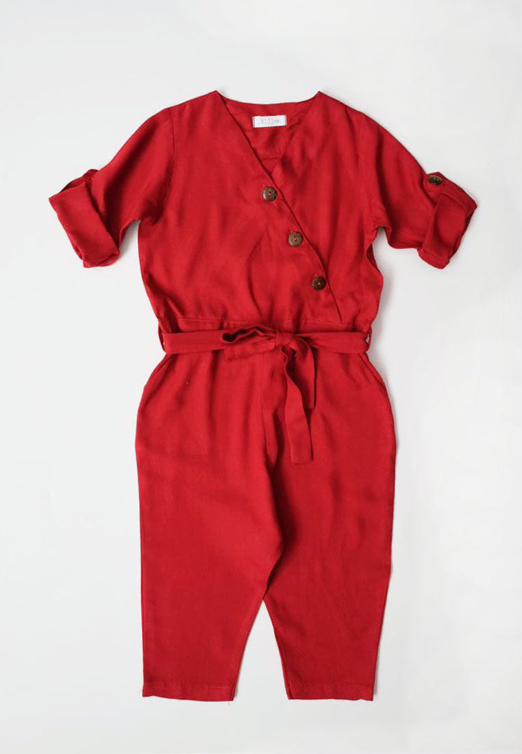 Nathan Jumpsuit Red