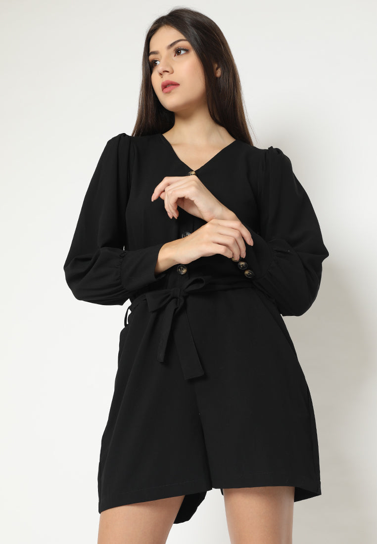 Neiva Jumpsuit Black (3-6 Days)