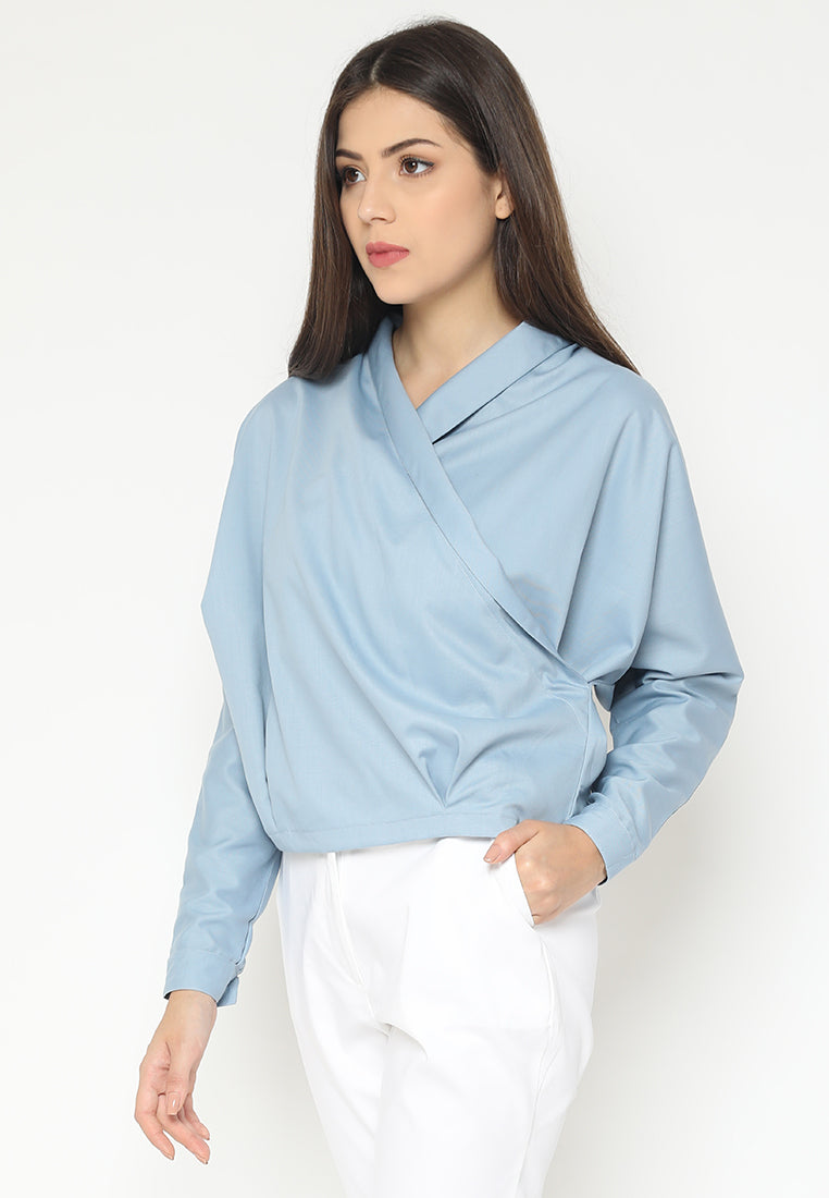 Nenaresha Top Blue