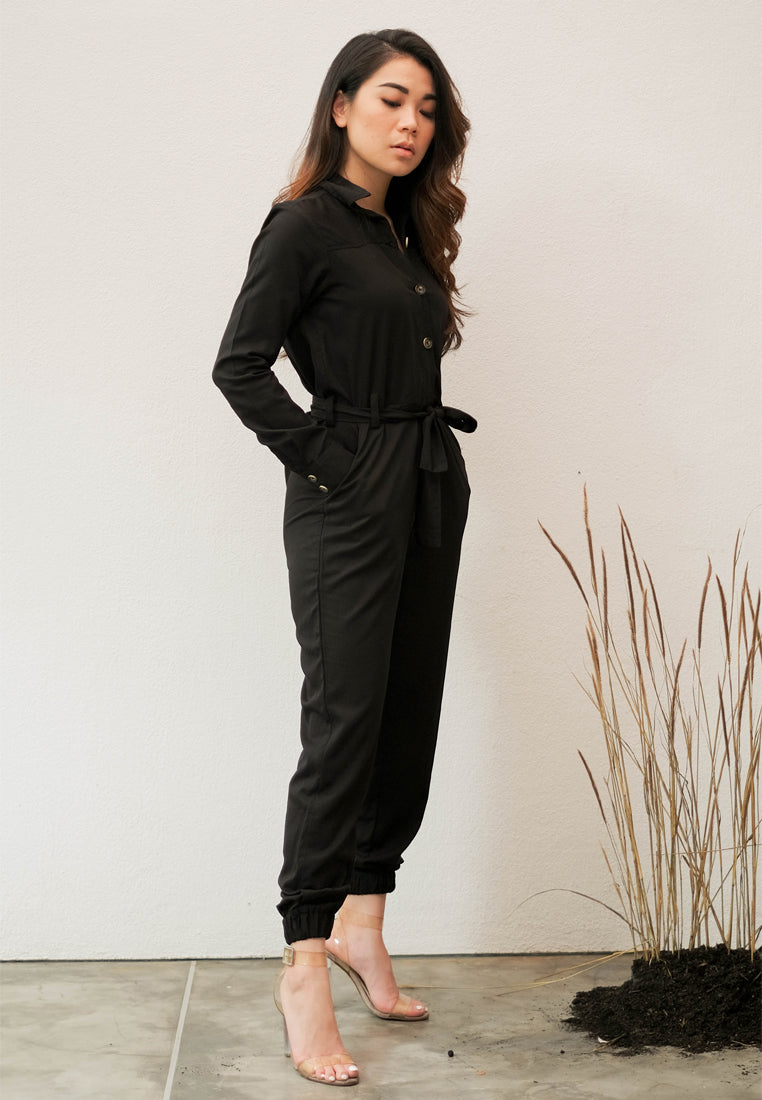 Odelia Jumpsuit Black