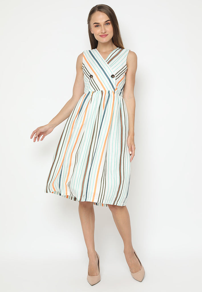 Ophelia Dress Stripes