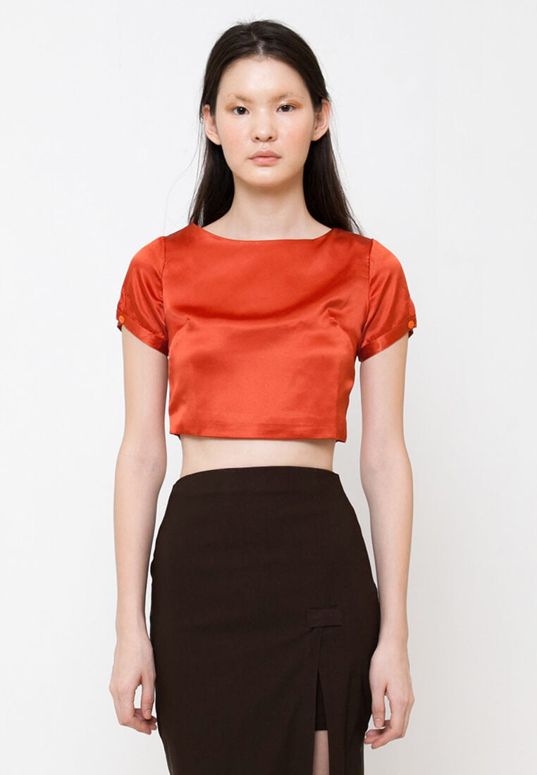Qimee Top Red