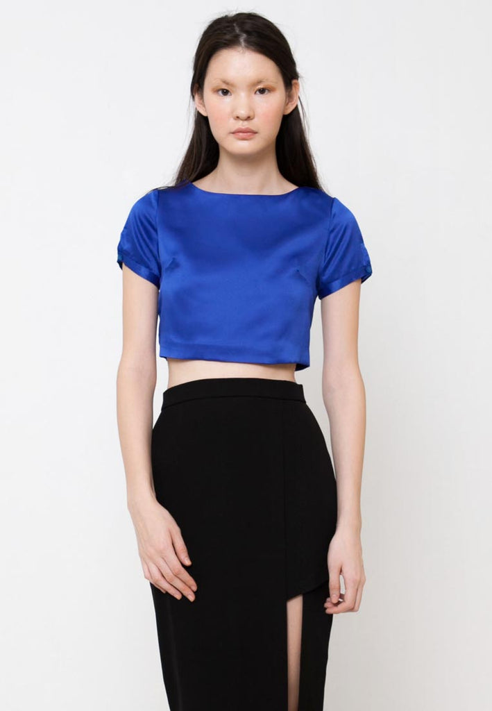 Qimee Top Blue