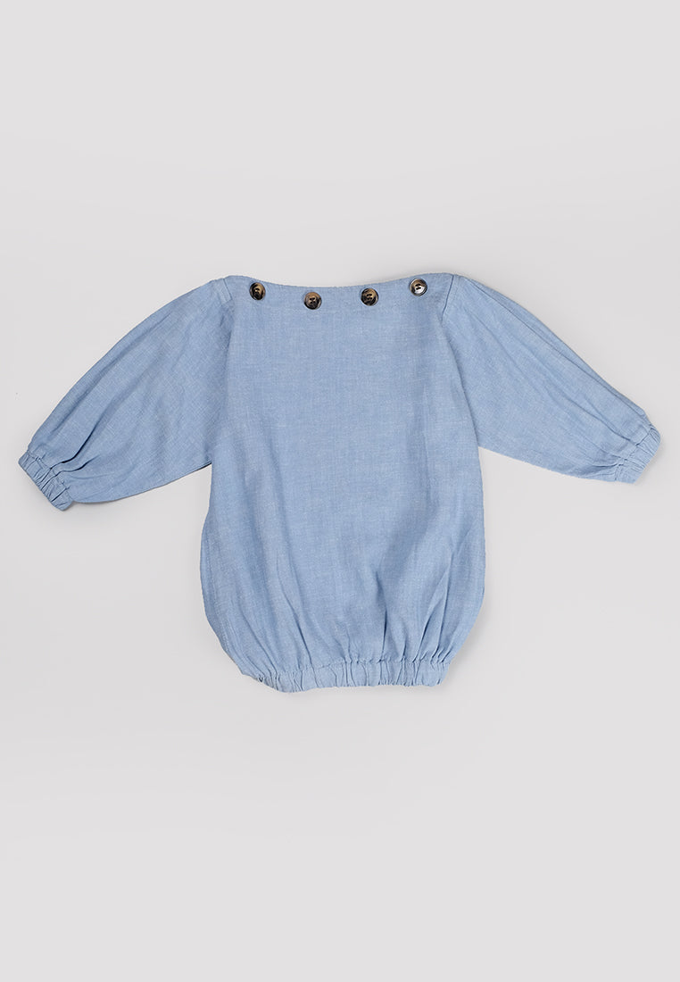 Rae Top Blue (3-6 Days)