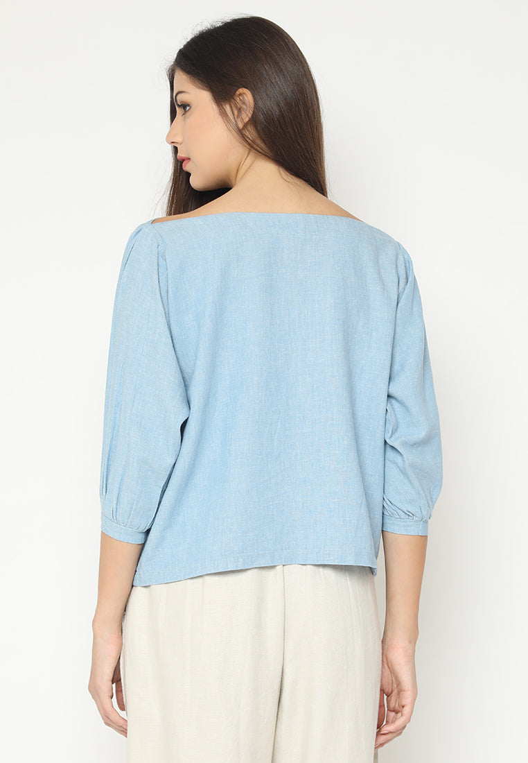 Raeka Top Blue (3-6 Days) (4168588329005)