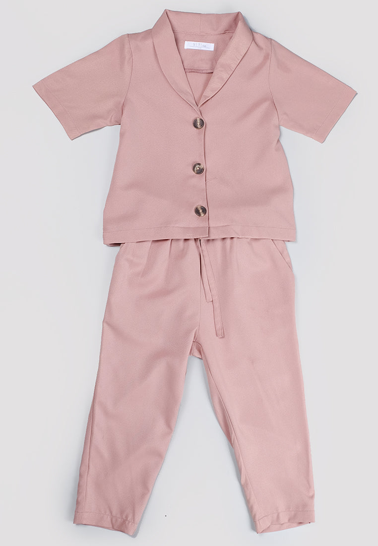 Vior Set Dusty Pink