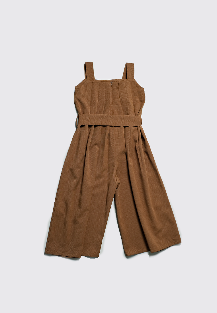Vitto Jumpsuit Dark Brown