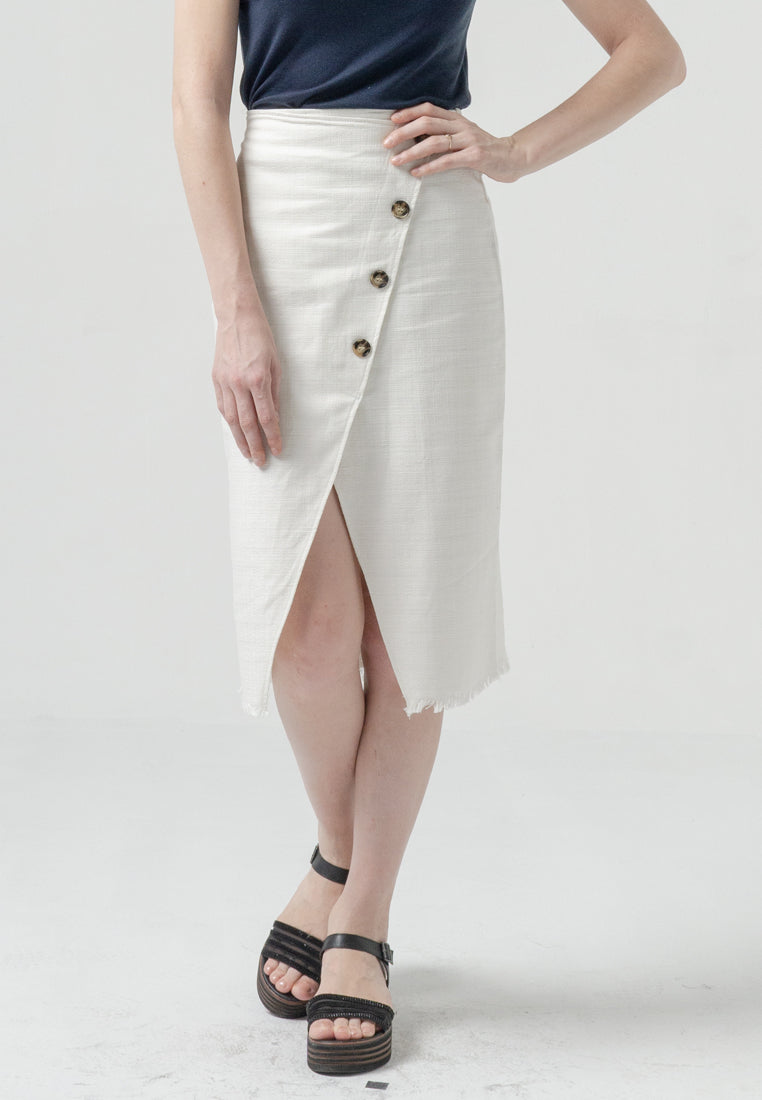 Wilona Skirt Off White (3979217469485)