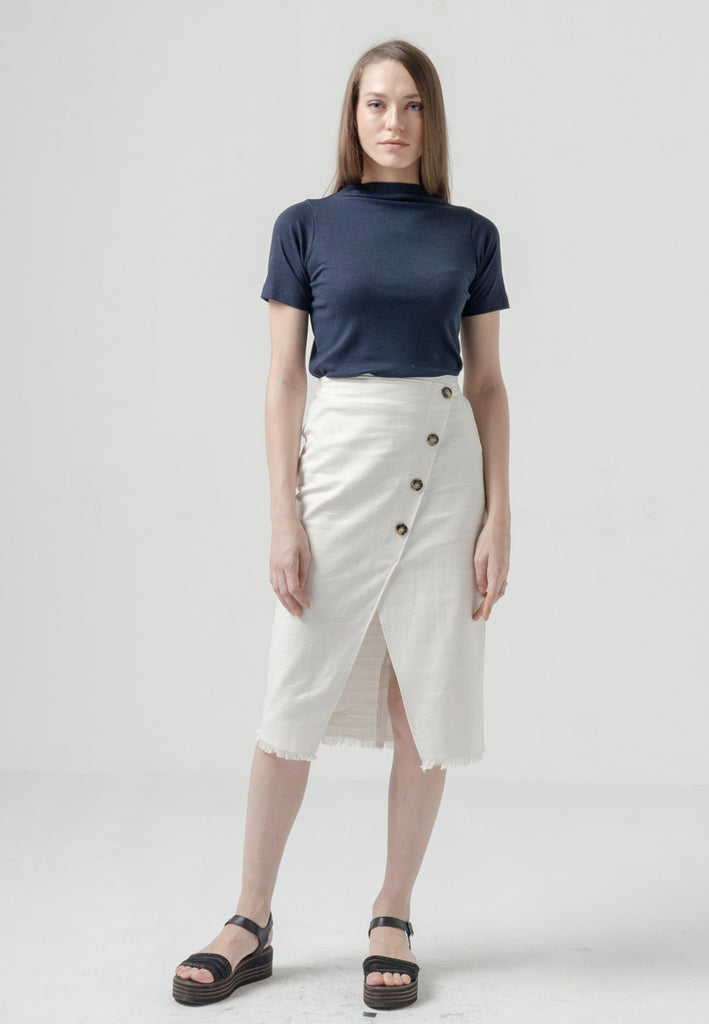 Wilona Skirt Off White