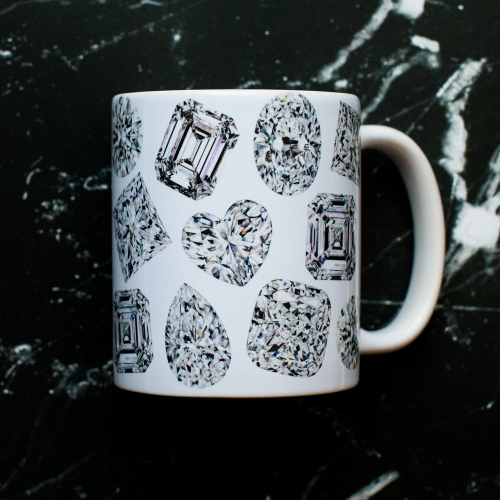 Diamond Watercolor Mug