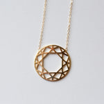 The Solid Facet Pendant