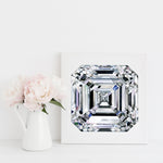 Asscher Diamond II Canvas Print