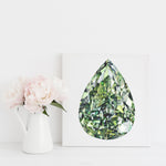 Green Diamond Canvas Print