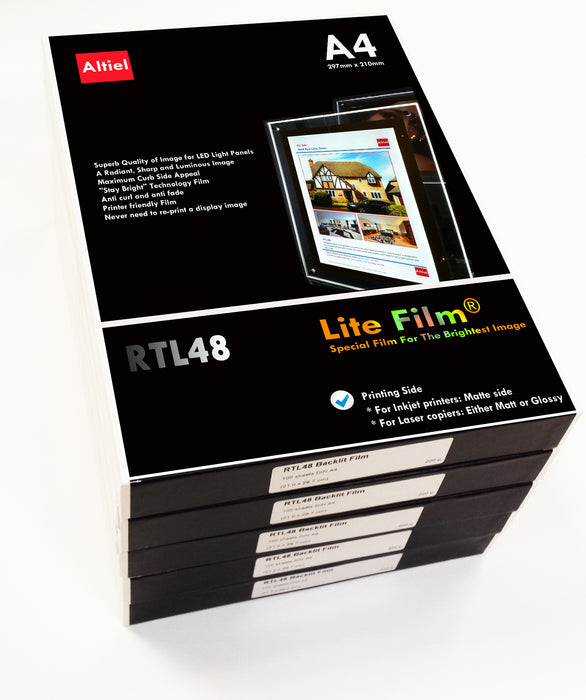 RTL48 (A4) <br> Lite Film® for LED Light Panels