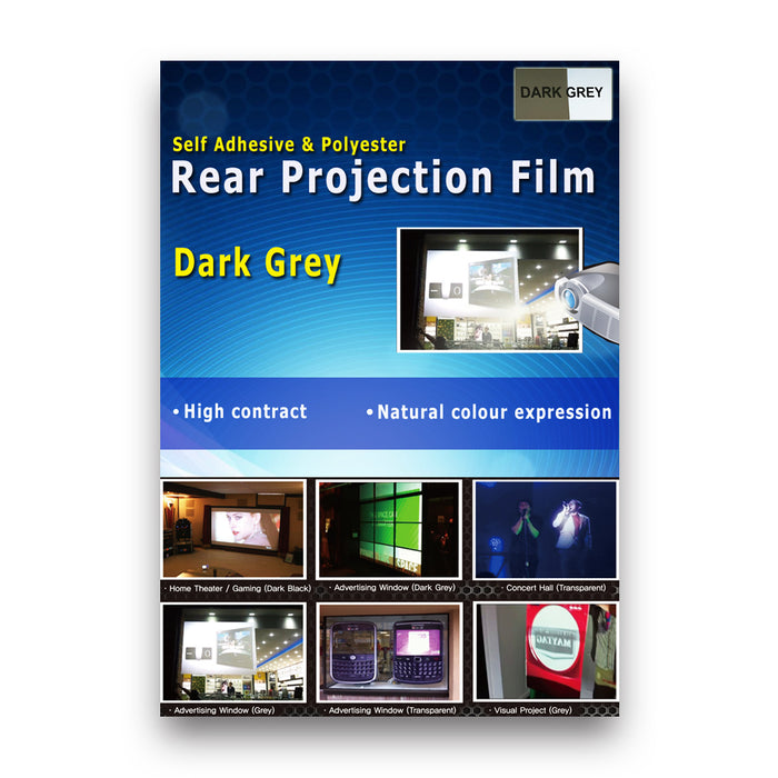 RTL-Y21 <br> Dark Grey Rear Projection Film