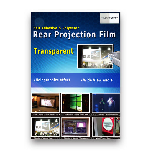 RTL-Y22 <br> Transparent Holographic Rear Projection Film