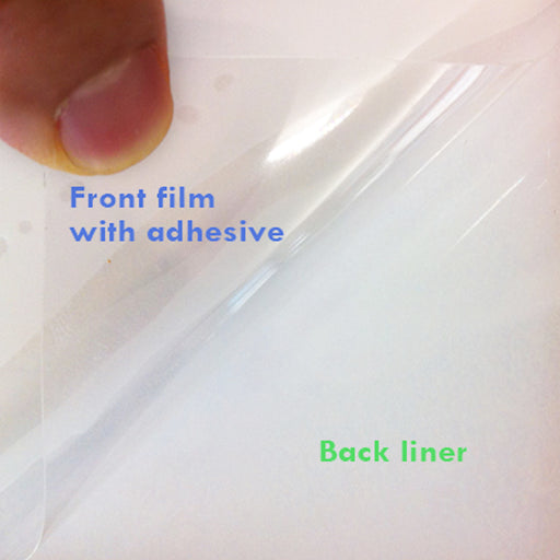 RTL29 <br> Self-adhesive PET clear film