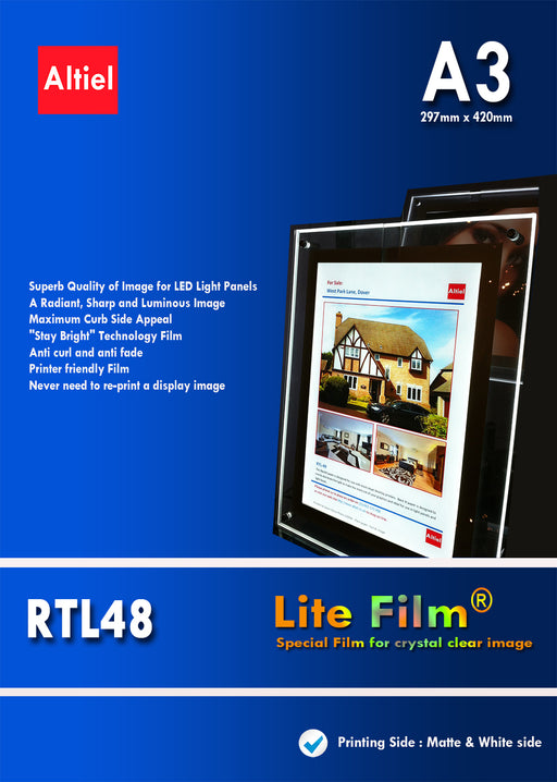 RTL48 (A3) <br> Lite Film® for LED Light Panels