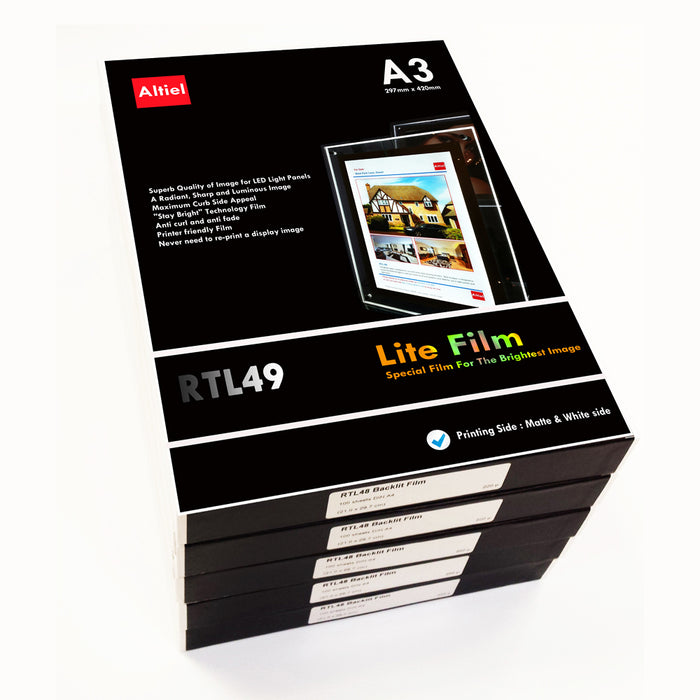 RTL49 (A3) <br> Lite Film® for LED Light Panels