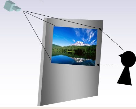 RTL-Y23 <br> Dark Black Rear Projection Film
