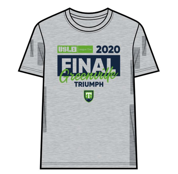 Greenville Triumph Adult 2020 USL League One Final Shirt