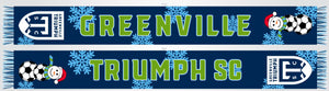 2020 Greenville Triumph Woven Holiday Scarf