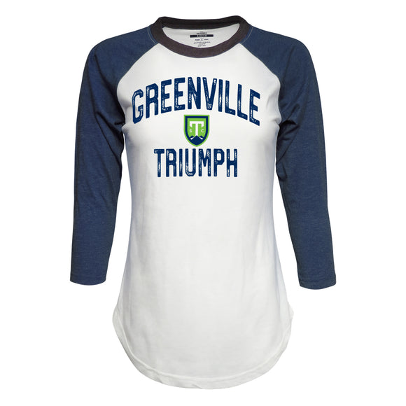 Women's Raglan 3/4 Sleeve Baseball Tee