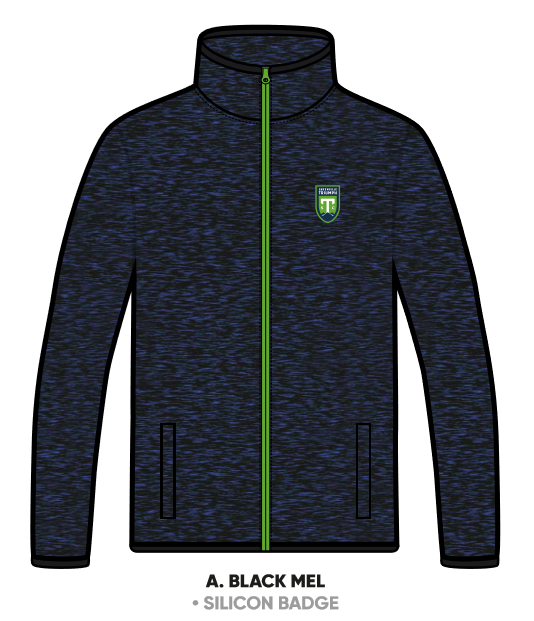 SDS Youth Navy Heathered Knit Fleece