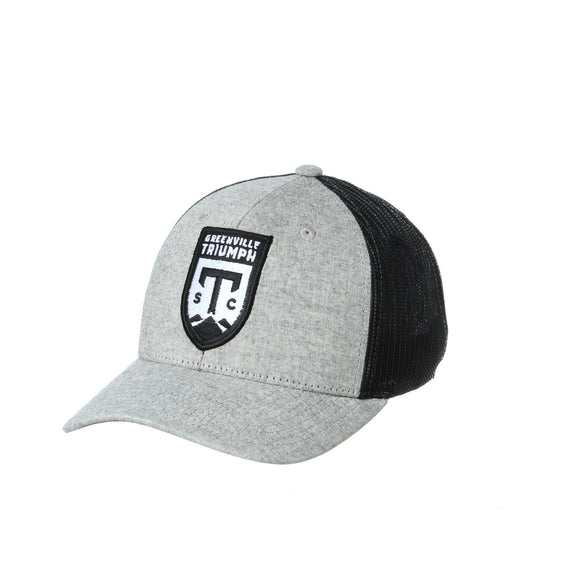Triumph T22 Trucker Adjustable Hat - Suit Grey