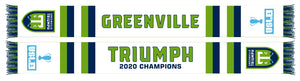 2020 USL League One Champions Traditional Knit Scarf