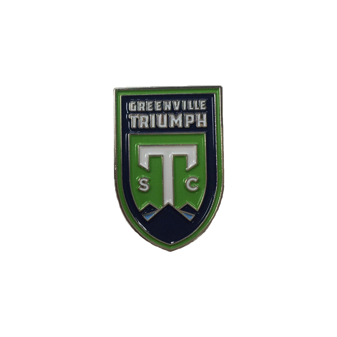 Greenville Triumph Lapel Pin