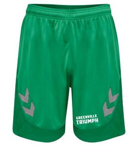 hummel Green Lead Poly Shorts