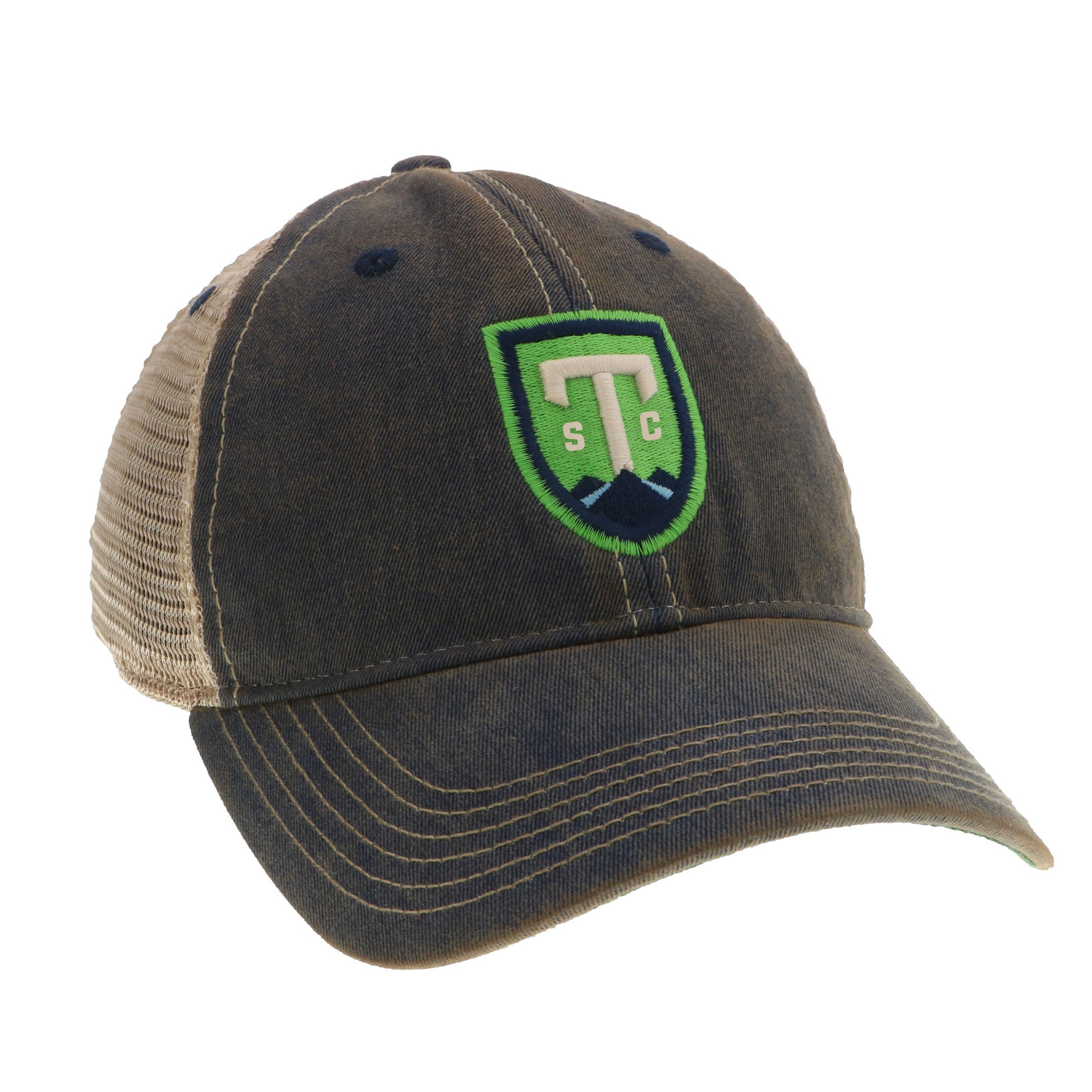 Greenville triumph legacy old favorite navy trucker hat greenville jpg  2500x2500 Legacy old favorite trucker cap 16ea55ce2008