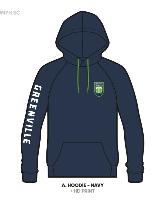 SDS Adult Navy Leisure Hoodie