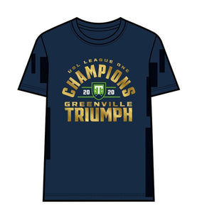 2020 USL League One Champions Adult Navy T-Shirt
