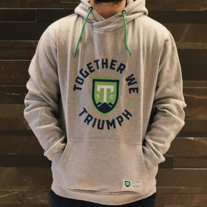 SDS Together We Triumph Grey Wrap Hoodie