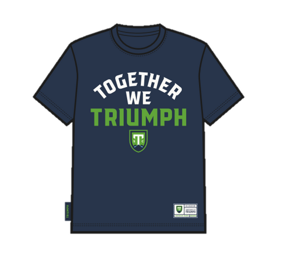 SDS Youth 'Together We Triumph' Navy T-Shirt