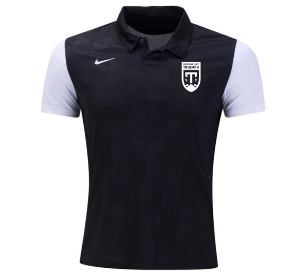 Nike Black & White Trophy Polo