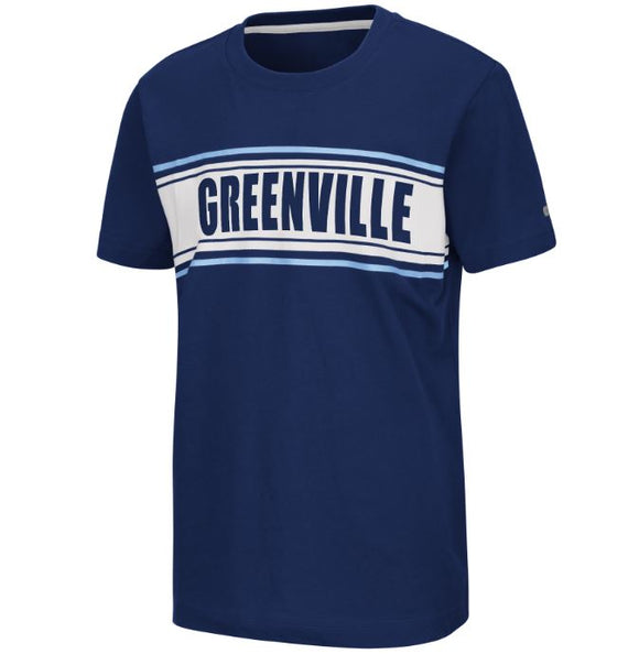 Youth Navy 'Greenville' Camping Tee