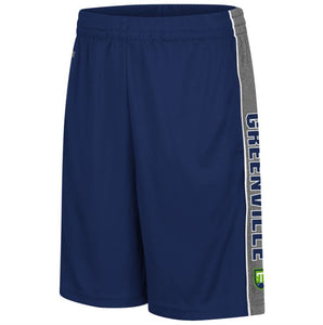 Youth Navy/Grey 'Greenville' Athletic Shorts