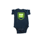 Greenville Triumph Navy Infant Onesie