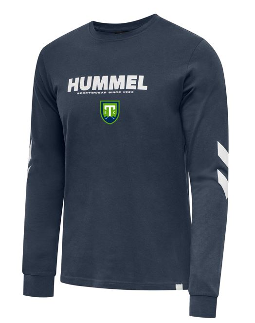 hummel Legacy Light Navy Long-Sleeve Tee