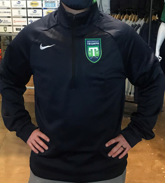Navy Nike Thermal 1/4 Zip Jacket