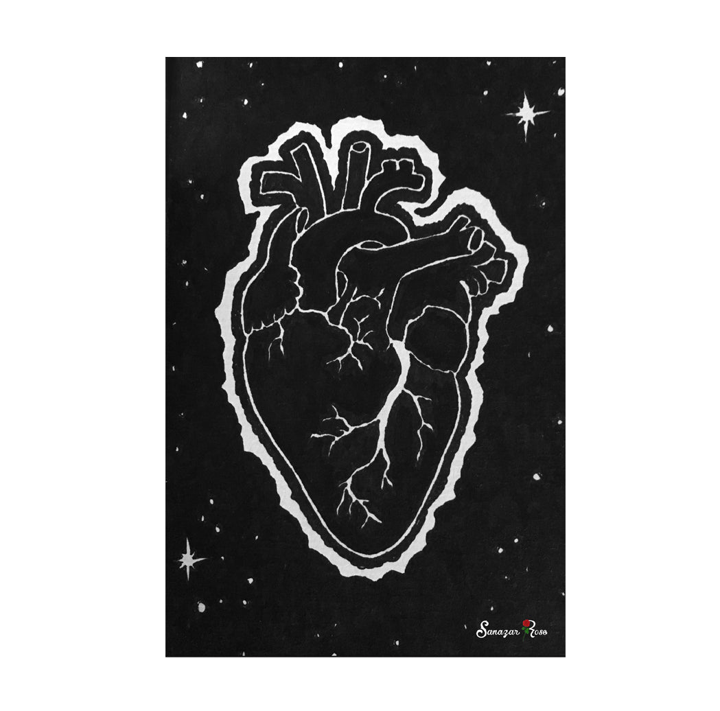 Eclipse Heart ~ Framed Small Print