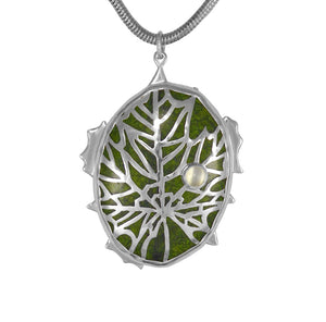 Leaf Pendant - One Of A Kind