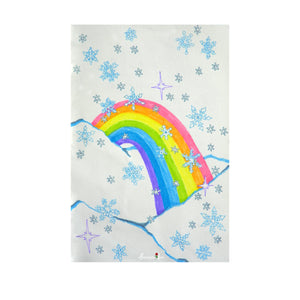 Snow Bow ~ Framed Small Print